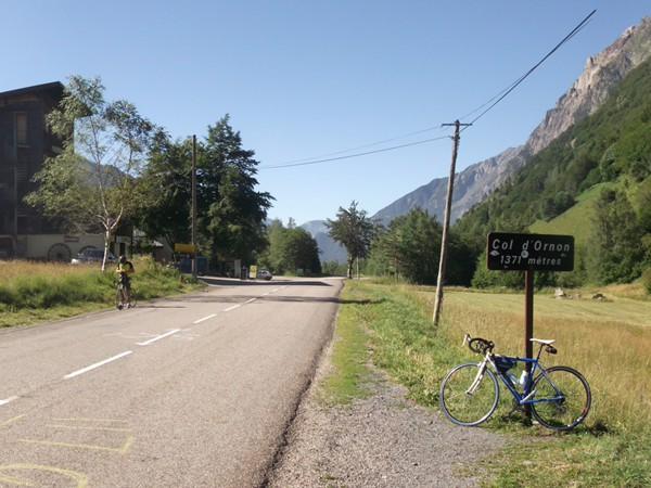 Côté Sud du Col d'Ornon.