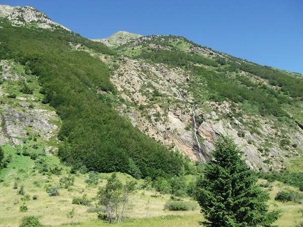 La cascade de la Pisse.
