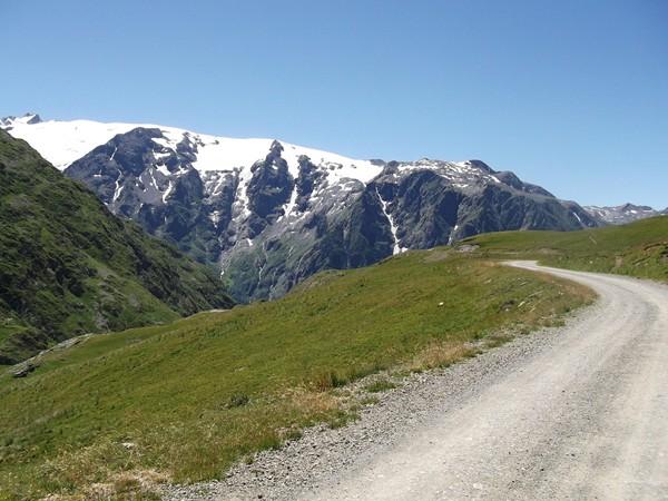 Le Glacier de Mont-de-Lans. C'est là que se trouve le Col du Jandri - 3150 m.
