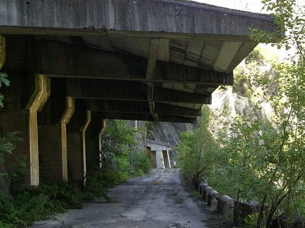 Ancienne voie du Tunnel des Commères.