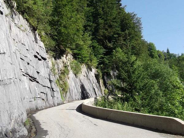 Dans la montée vers Villard-Reymond.