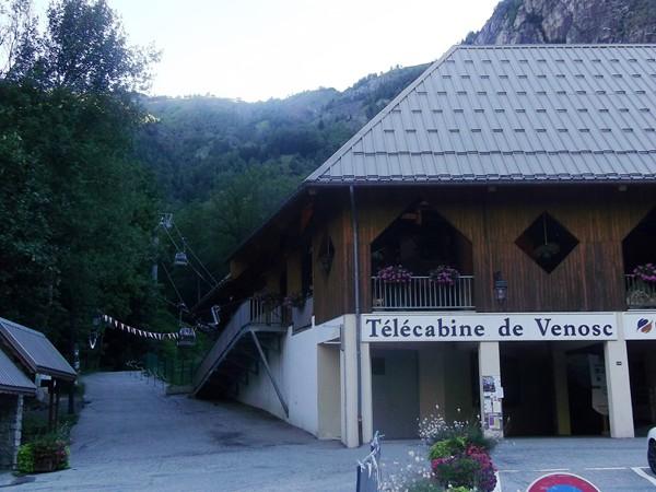 Télécabine faisant la liaison avec la station des 2 Alpes.
