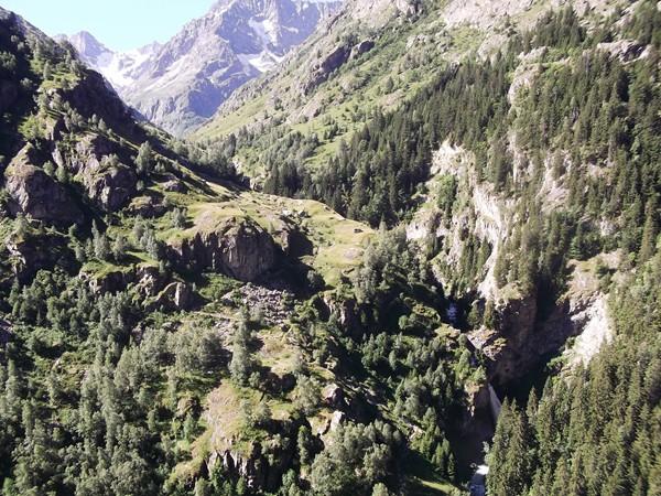 Cascade de la Lavey.