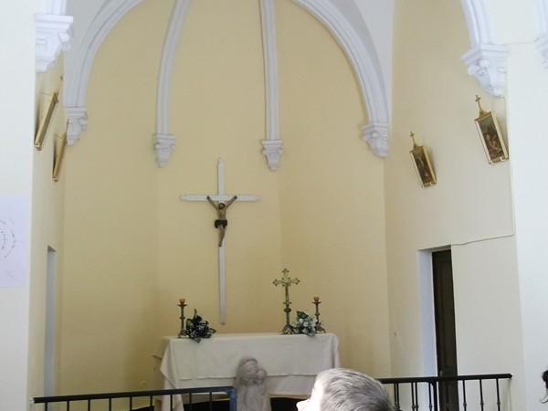 L'intérieure de la Chapelle.