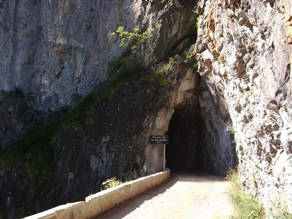 L'entrée du troisième tunnel.