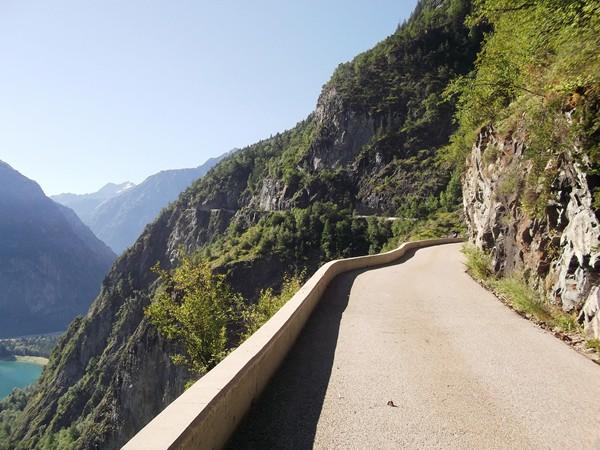 Une route de montagne exceptionnelle ! Et rien qu'à moi ce matin !