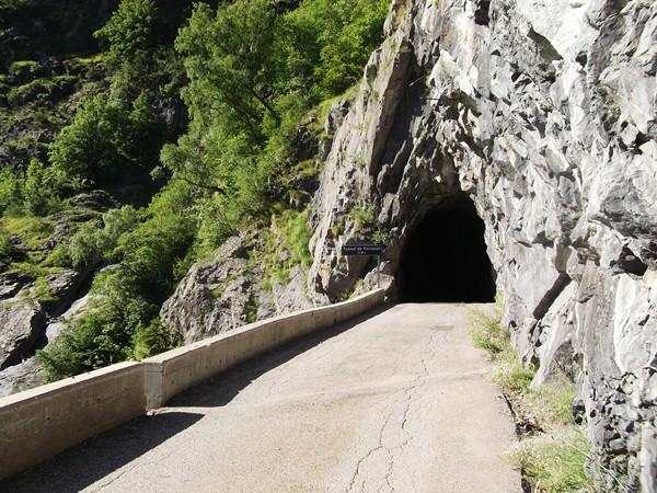 Quatrième et dernier tunnel.
