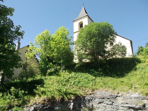 L'église de Villard-Notre-Dame.