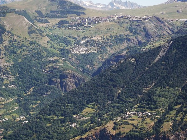 L'Alpe d'Huez et sa montée.