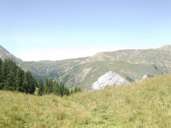 Panorama Ouest du Col de St-Jean.