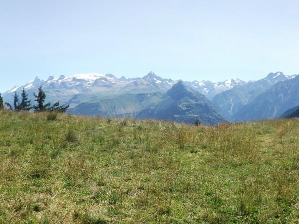 Panorama Est du Col de St-Jean.