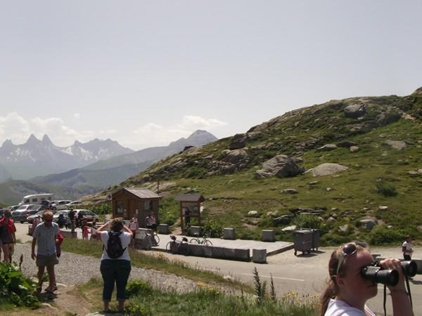 Panorama à l'Est du Col de la Croix de Fer.
