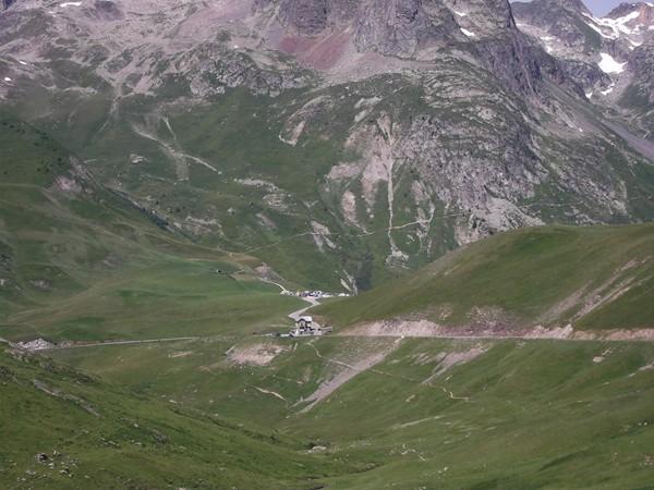 Vue sur le Col du Glandon.