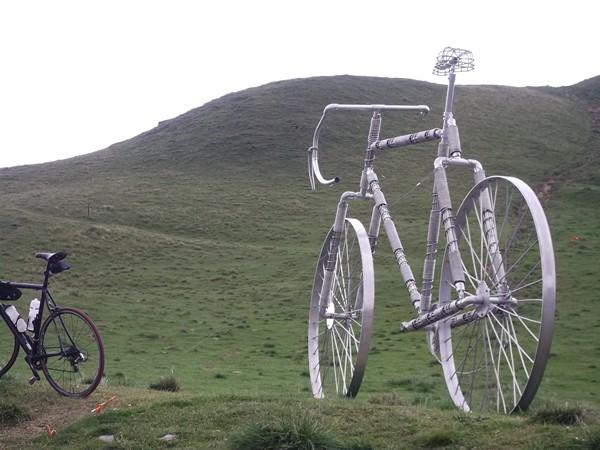 Pas sûr de monter un col avec ce vélo-là !