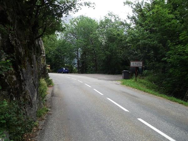 Ouf, nouveau replat en arrivant au Rivier d'Allemont.