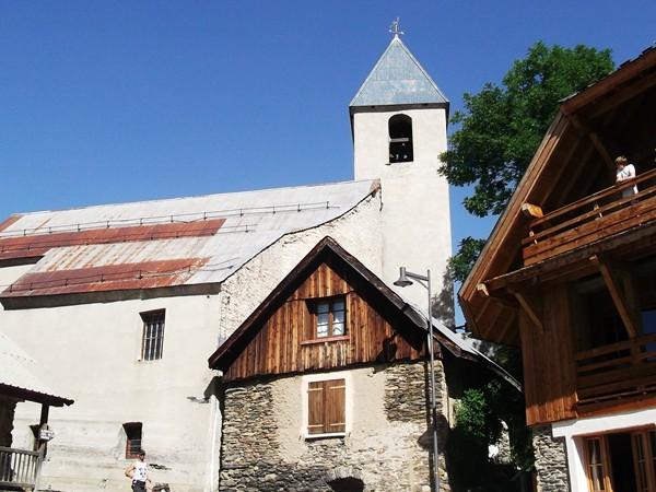 L'église de Villard-Reculas.