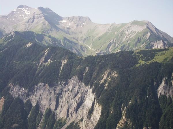 Zoom sur le Col du Solude.
