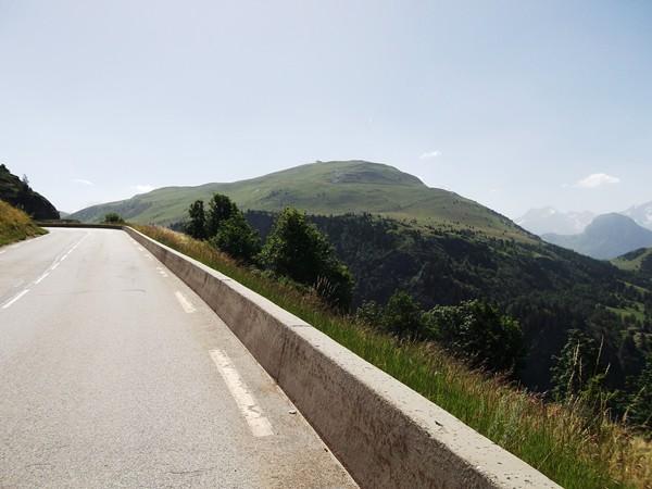 Vue sur la Montagne de l'Homme (2151 m).