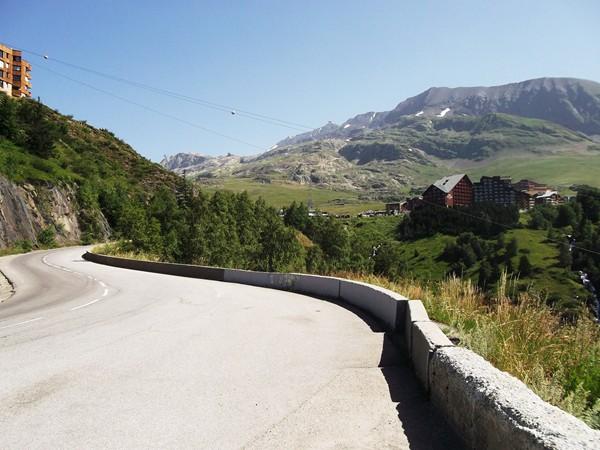 La station de l'Alpe d'Huez et le quartier des Bergers.