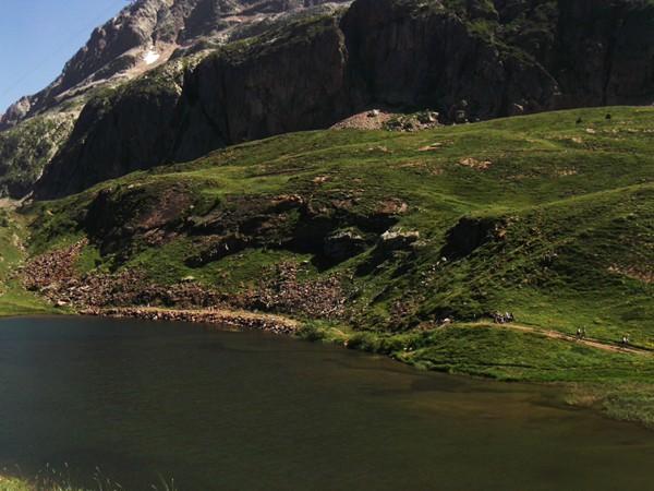 Le Lac Besson - 2074 m.