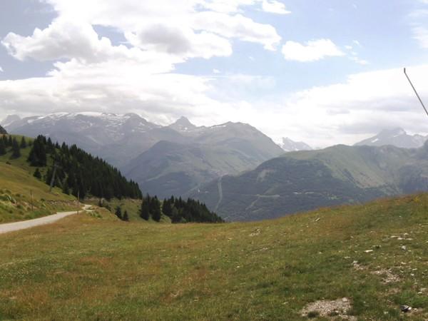 Col de Maronne - panorama Sud.