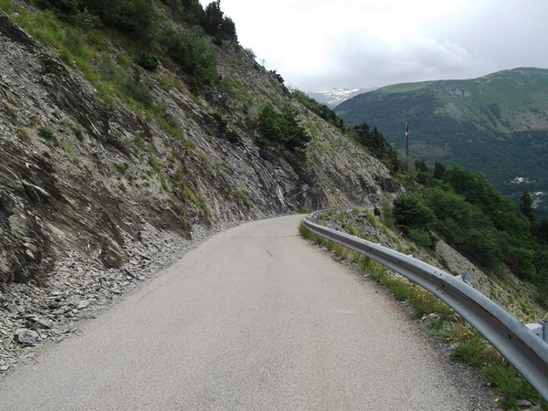 Route-balcon d'Armentier.