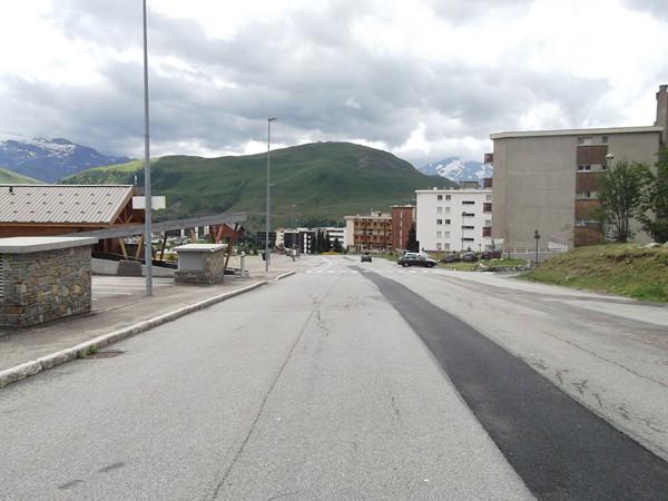 Boulevard du Rif-Nel (photo prise en se retournant), une longue ligne droite avec un 7/8% qui pique les jambes !