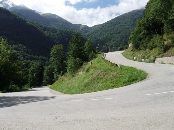 Les premières rampes au début de la montée vers Auris-en-Oisans... je vous laisse deviner le pourcentage ?!