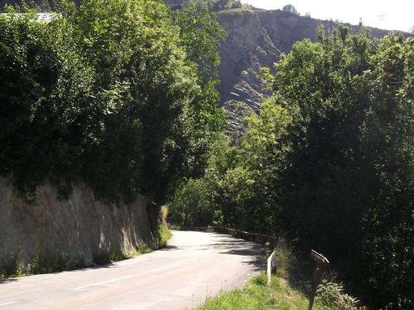 A la fin de la montée vers Mizoën.