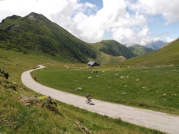 Le final du versant Alpe d'Huez.