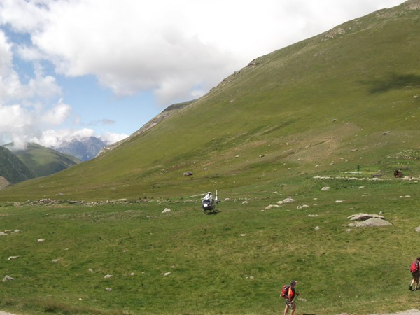 Panorama du Col de Sarenne.