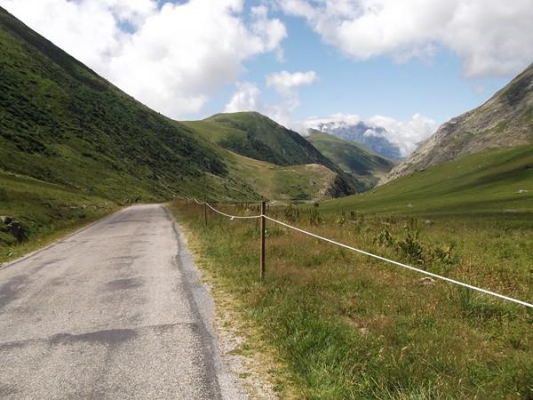 Descente vers l'Alpe d'Huez.