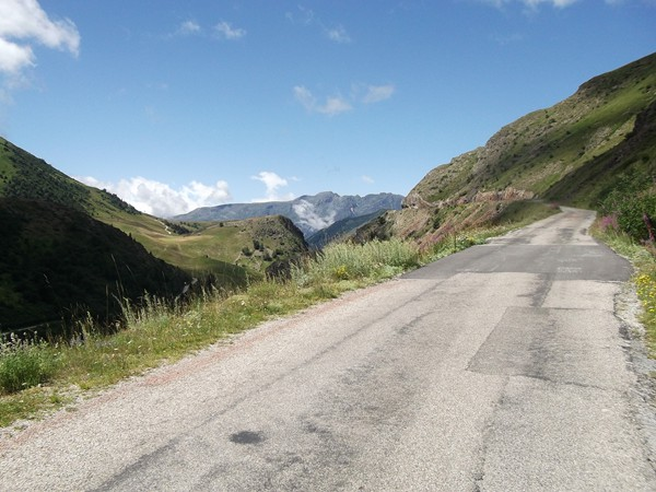 Vue en direction de l'Alpe d'Huez.
