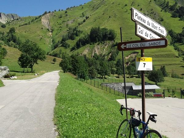 Le Collet (alt. 1400 m).