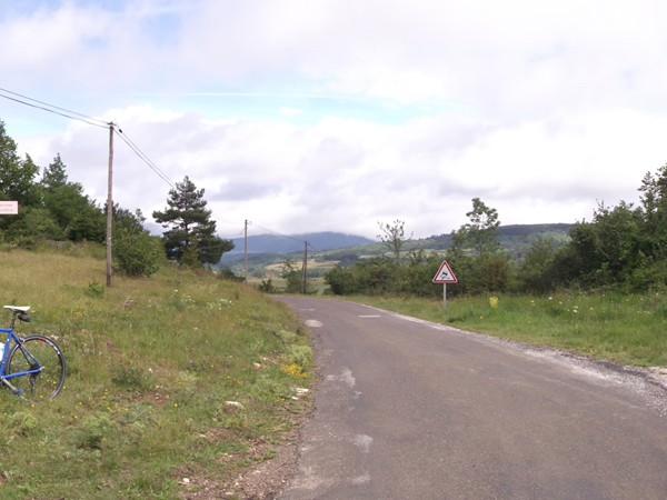 Vue Nord au Col des Aychides - 1007 m.