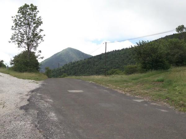Vue Sud au Col des Aychides - 1007 m.