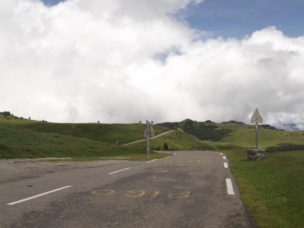Col de Pailhères - panorama Est.