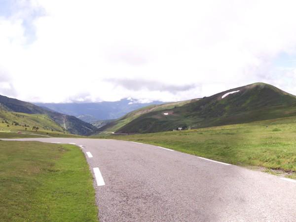 Col de Pailhères - panorama Ouest.