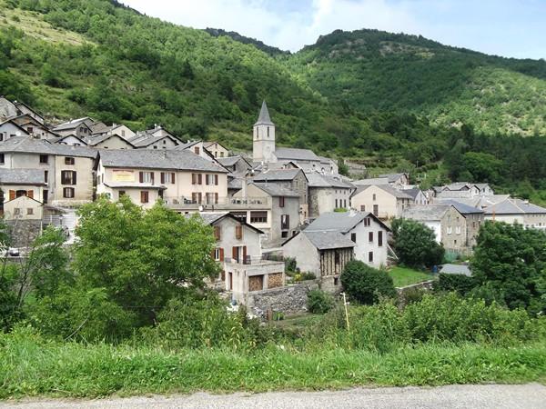 Le village de Mijanès.