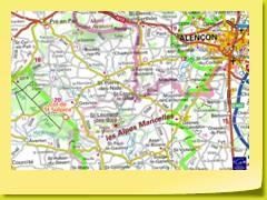 Les Alpes Mancelles se trouvent plus près d'Alençon que de Le Mans.