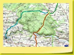 Les 3 versants du Col de St-Sulpice.