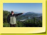 Mon père pointe une autre montée de légende : le Mont du Chat...