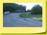 Un lacet en direction du Grand Colombier.