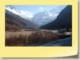Le Val d'Arolla au niveau de Satarma (alt. 1808 m).