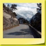 Une petite route de montagne bien sympathique.