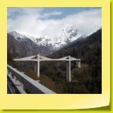 En approche du pont de Ganter.