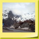 Les derniers mètres du col du Simplon.