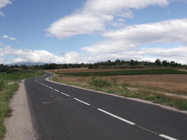 Panorama sur le Col de Rousse.