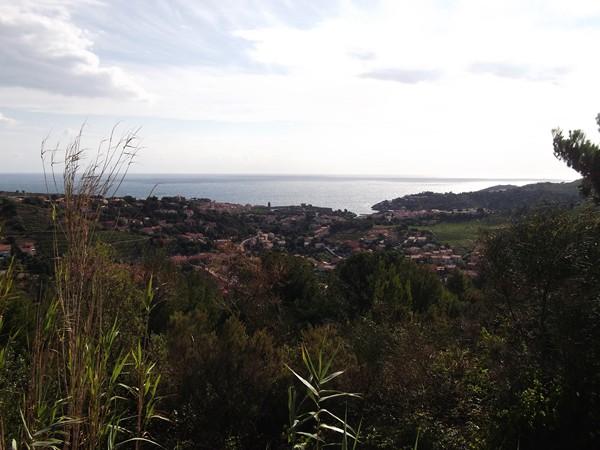 Collioure et la Mer Méditerranée.