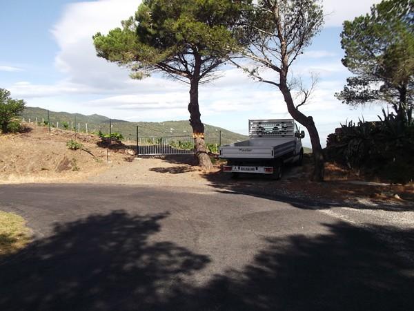Au Col de Cassagne - 225 m - un camion me pouurit la photo !